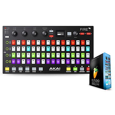 Akai Professional Fire FL Studio Controller with FL Studio Signature Bundle