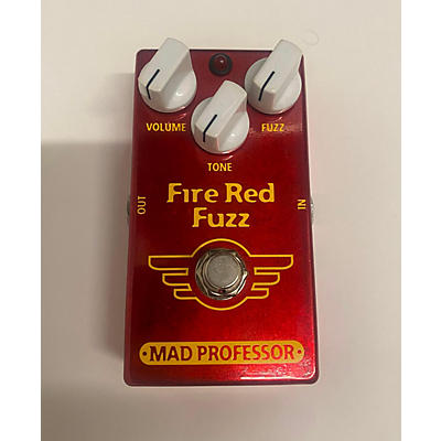 Mad Professor Fire Red Fuzz Effect Pedal