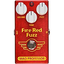 Open BoxMad Professor Fire Red Fuzz Effects Pedal