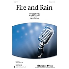 Shawnee Press Fire and Rain TBB by James Taylor arranged by Greg Gilpin