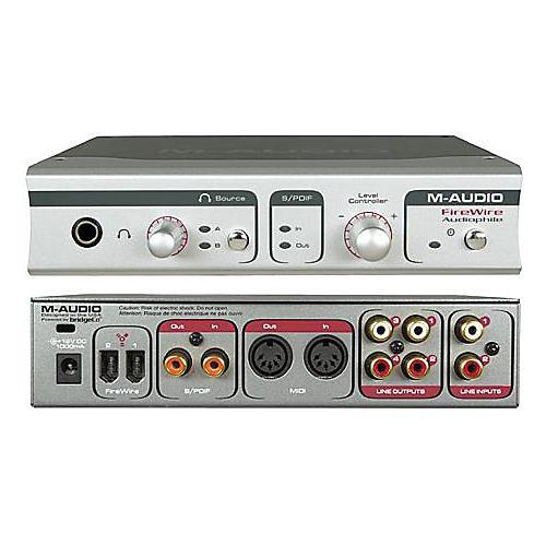 M-Audio FireWire Audiophile Computer Recording Interface