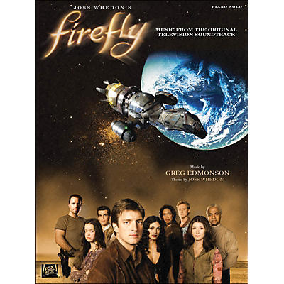 Hal Leonard Firefly Piano Solo Music From The Original Television Soundtrack arranged for piano solo