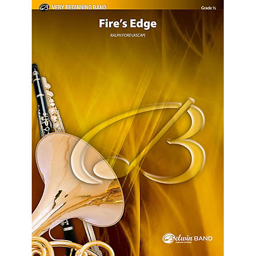 BELWIN Fire's Edge Concert Band Grade 0.5 (Very Easy)