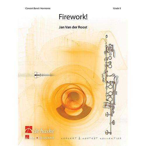 Hal Leonard Firework Score Only Concert Band