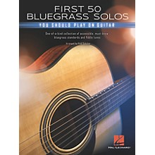 Hal Leonard First 50 Bluegrass Solos You Should Play on Guitar