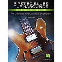 Hal Leonard First 50 Blues Turnarounds You Should Play on Guitar