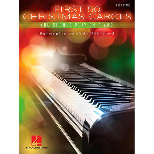 Hal Leonard First 50 Christmas Carols You Should Play On Piano