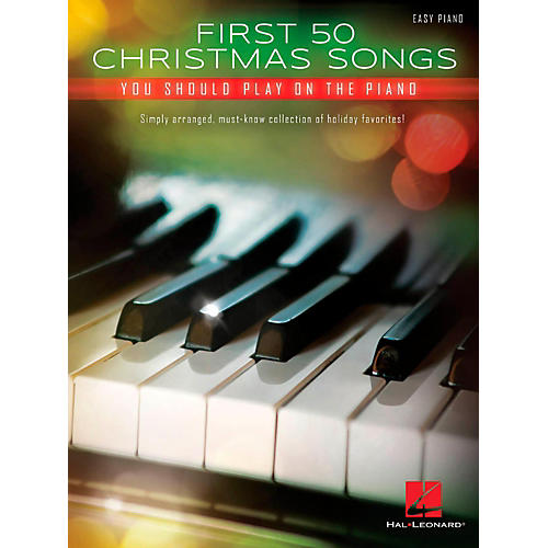 Hal Leonard First 50 Christmas Songs You Should Play on the Piano