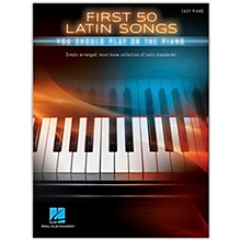 Hal Leonard First 50 Latin Songs You Should Play on the Piano Easy Piano Songbook