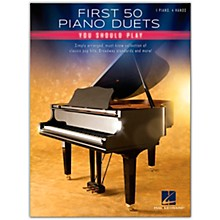 Hal Leonard First 50 Piano Duets You Should Play - Piano Duet Songbook