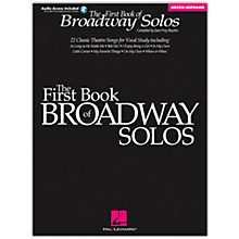 Hal Leonard First Book Of Broadway Solos for Mezzo-Soprano (Book/Online Audio)