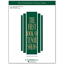 G. Schirmer First Book/Online Audio Of Tenor Solos Book/Online Audio