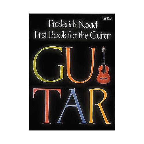 G. Schirmer First Book for the Guitar - Part 2 Book