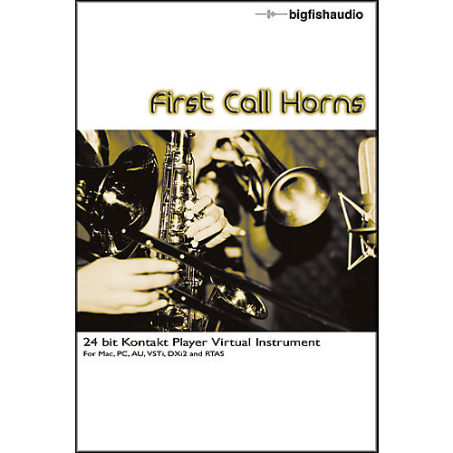 Big Fish First Call Horns Sample Library