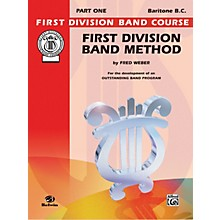 Alfred First Division Band Method Part 1 Baritone (B.C.)
