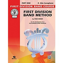 Alfred First Division Band Method Part 1 E-Flat Alto Saxophone