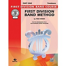 Alfred First Division Band Method Part 1 Trombone