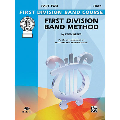 Alfred First Division Band Method Part 2 C Flute