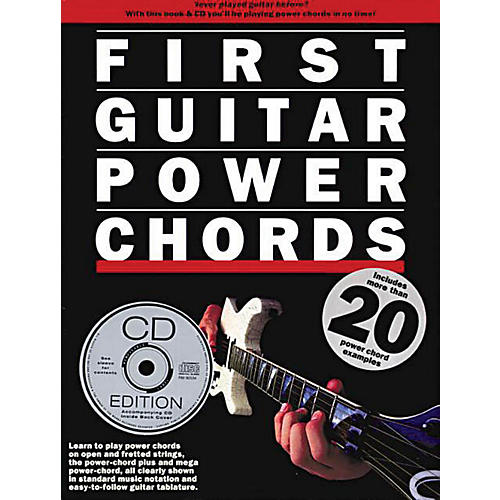 Music Sales First Guitar Power Chords Music Sales America Series Softcover with CD Written by Various Authors