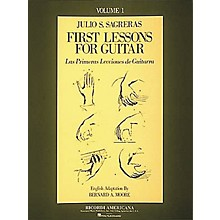 Ricordi First Lesson for Guitar Volume 1 Book