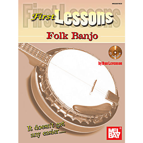 Mel Bay First Lessons Folk Banjo