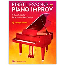 Hal Leonard First Lessons In Piano Improv (Book)