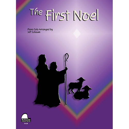 SCHAUM First Noel Educational Piano Series Softcover