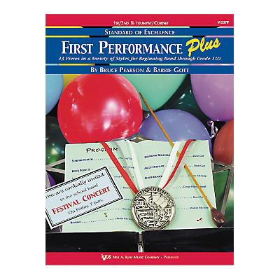 KJOS First Performance Plus 1st/2nd Bflat Trumpet/Cornet Book