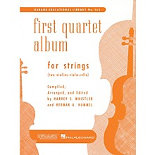 Rubank Publications First Quartet Album for Strings Ensemble Collection Series Arranged by Harvey S. Whistler