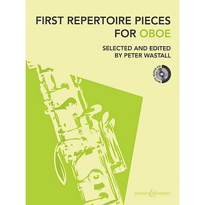Hal Leonard First Repertoire Pieces For Oboe Book/CD Includes Piano Accompaniment