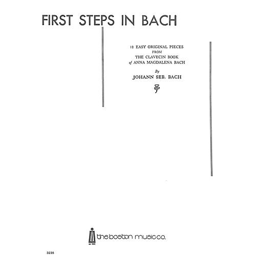 Music Sales First Steps In Bach Music Sales America Series