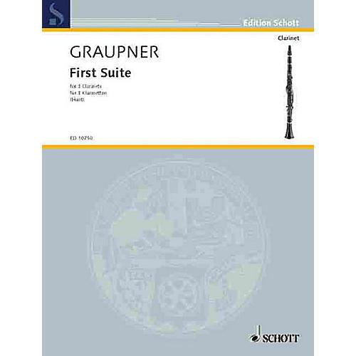 Schott First Suite Schott Series Composed by Johann Christoph Graupner Arranged by Edgar Hubert Hunt