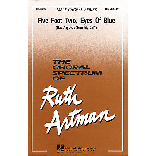 Hal Leonard Five Foot Two, Eyes of Blue TBB arranged by Ruth Artman