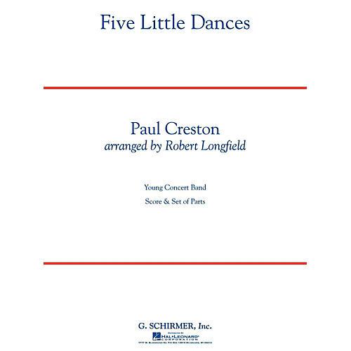 Hal Leonard Five Little Dances - Concert Band Level 3