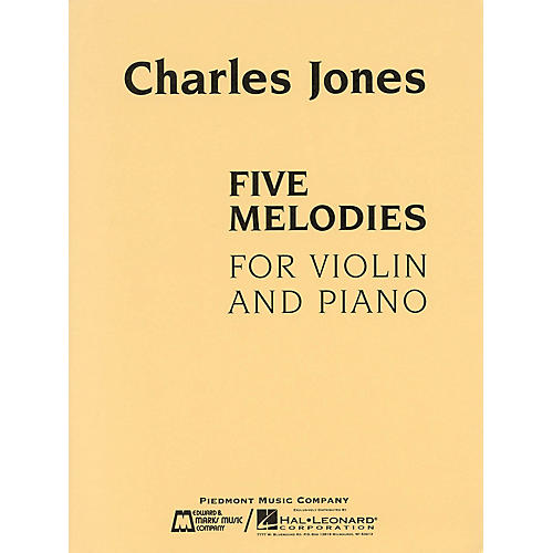 Edward B. Marks Music Company Five Melodies for Violin and Piano E.B. Marks Series Softcover