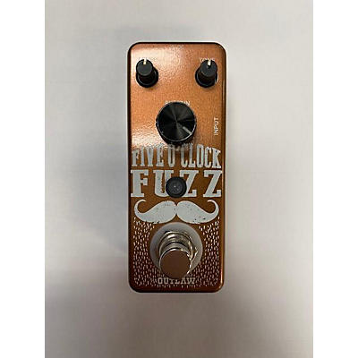 Outlaw Effects Five O'clock Fuzz Effect Pedal