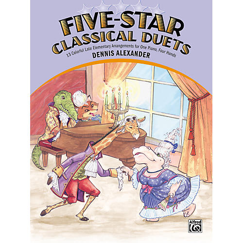 Alfred Five-Star Classical Duets Late Elementary Piano