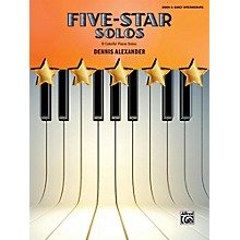 Alfred Five-Star Solos, Book 4 Early Intermediate