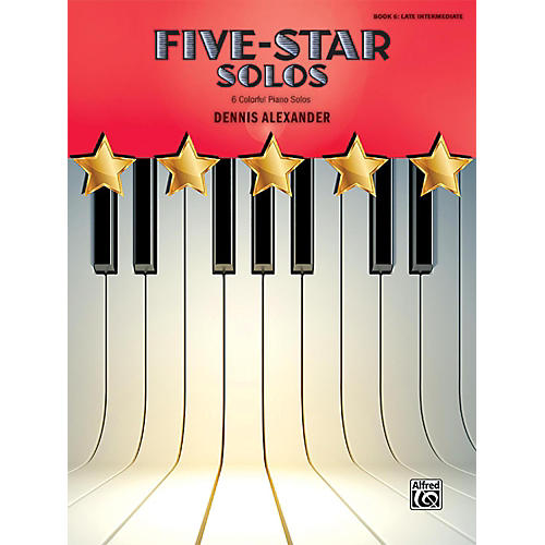 Alfred Five-Star Solos, Book 6 Late Intermediate