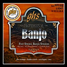 GHS Five String Banjo Light Strings