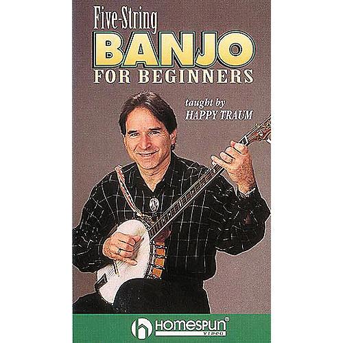 Hal Leonard Five-String Banjo for Beginners Video