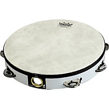 Fixed Head Tambourines White 10 in.