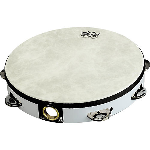 Remo Fixed Head Tambourines White 8
