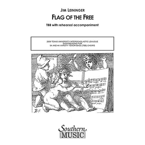 Hal Leonard Flag Of The Free (Choral Music/Octavo Secular Tbb) TBB Composed by Leininger, Jim