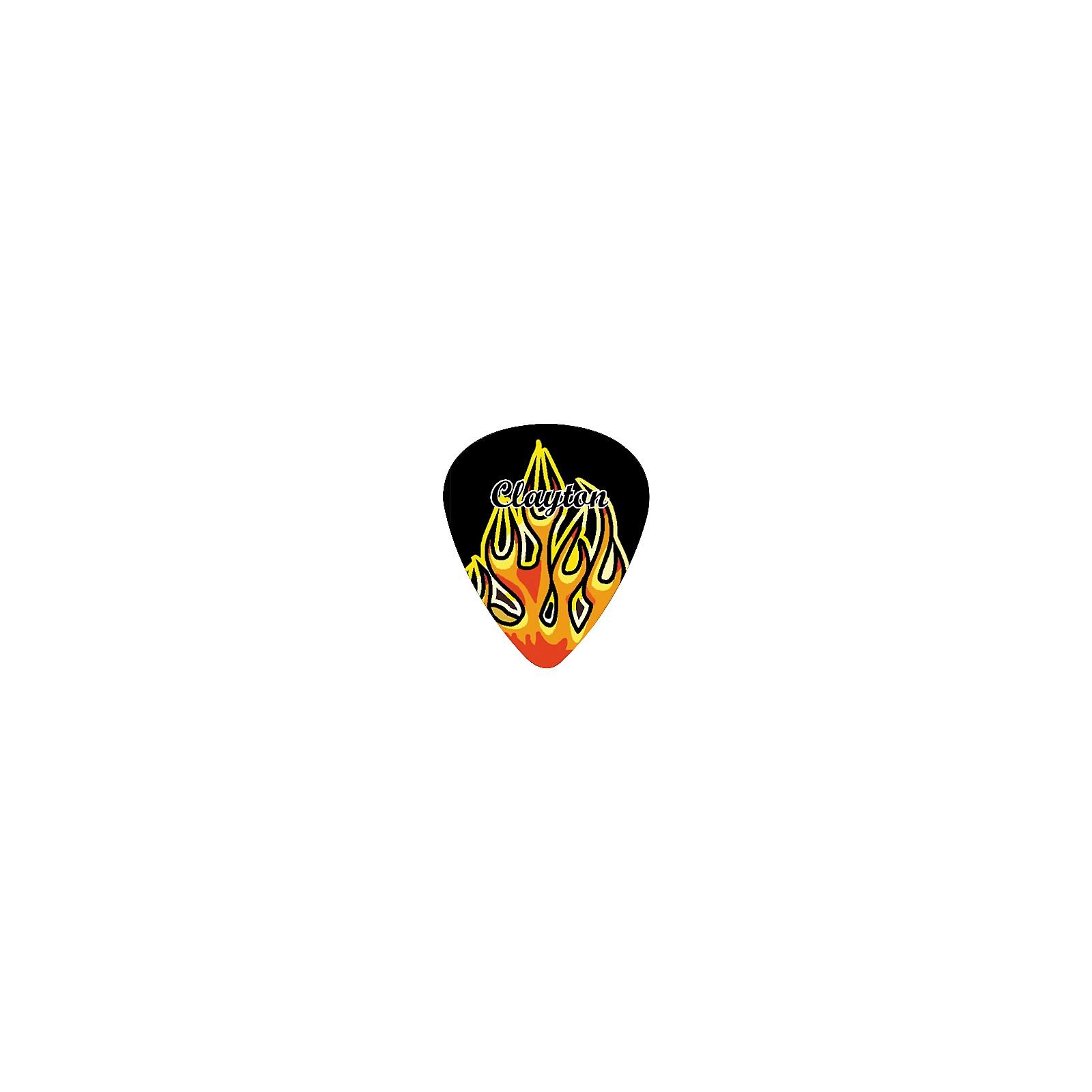 Clayton Flame Guitar Picks Standard