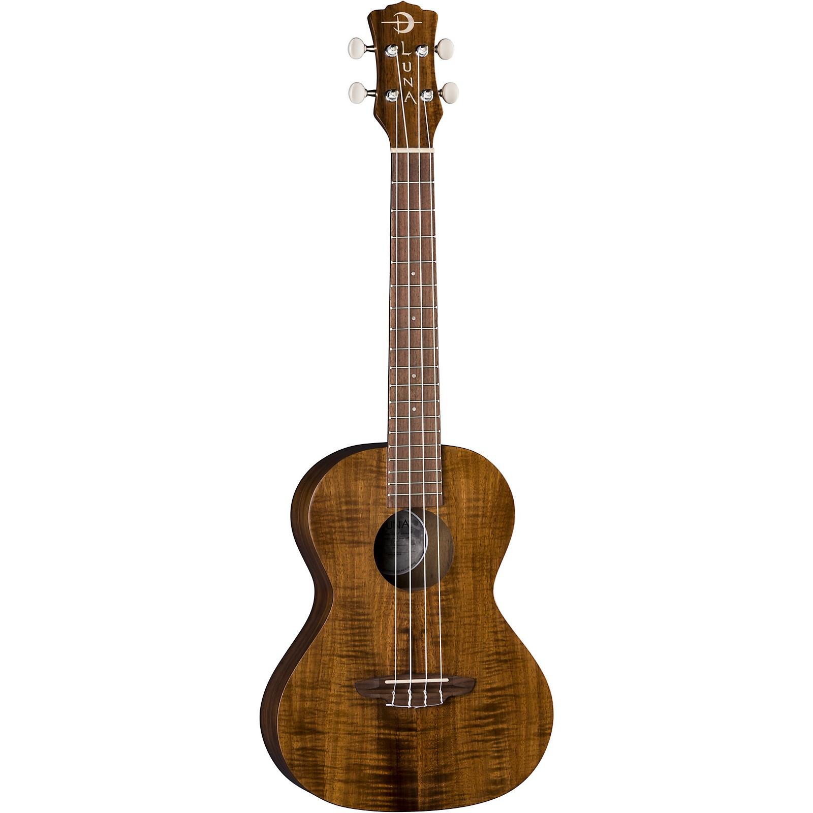 Luna Guitars Flamed Acacia Tenor Ukulele