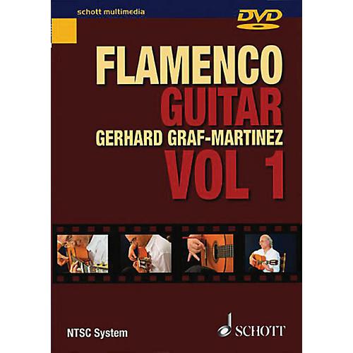 Schott Flamenco Guitar Vol. 1 Schott Series DVD Written by Gerhard Graf-Martinez