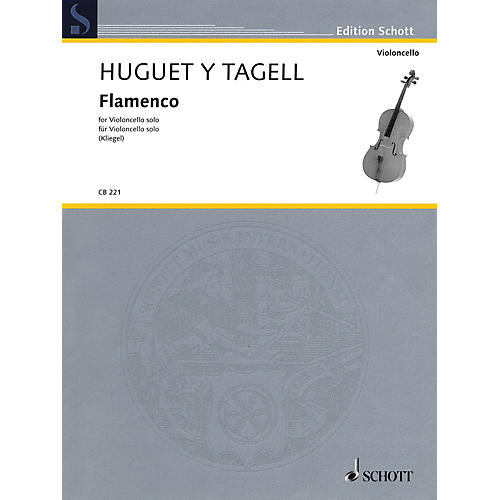 Schott Flamenco from Suite espagnole No. 1 (Cello Solo) String Solo Series Softcover