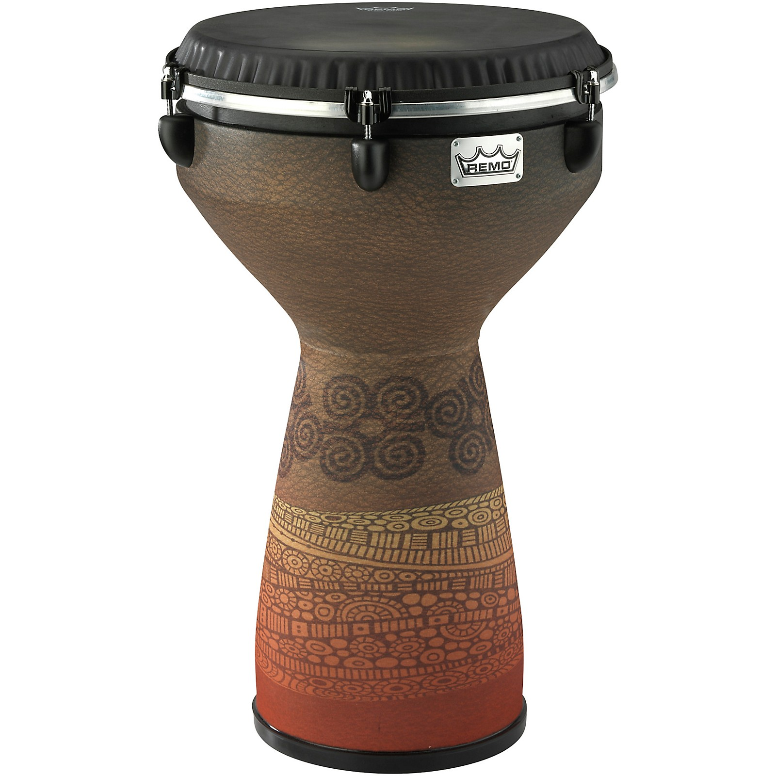 Remo Flareout Djembe Drum - Desert Brown, 13in