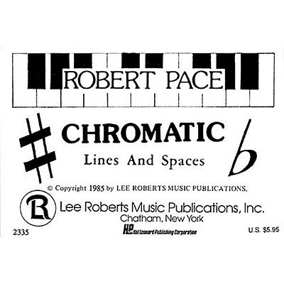 Hal Leonard Flash Cards - Chromatic Lines & Spaces